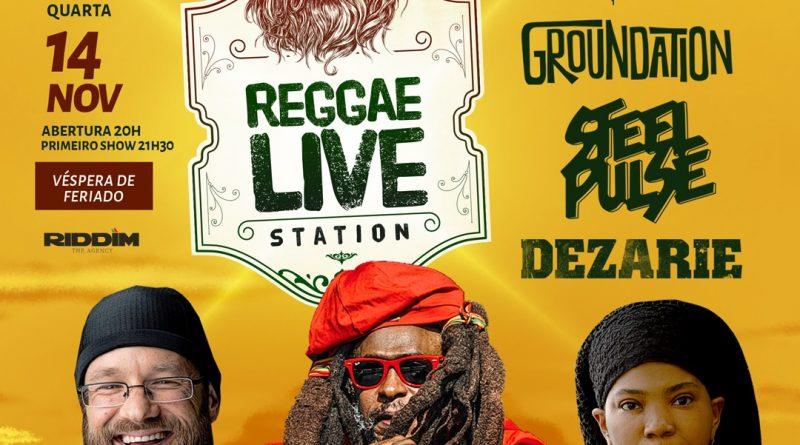 Grande encontro do reggae no Espaço das Américas 14 Novembro