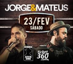 Jorge & Mateus na Estancia 23 Fevereiro