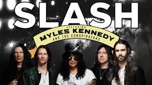 Slash ft. Myles Kennedy e The Conspirators chegam ao Espaço das Américas dia 25 Maio