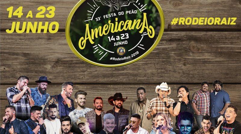 33ª edição do Rodeio de Americana traz novamente atrações para todos os gostos na programação de 2019