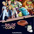 Toy Story 4 estreia no Cinemark do Central Plaza Shopping com itens colecionáveis