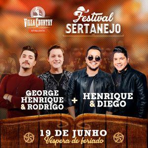Festival Sertanejo volta com tudo ao Villa Country – 19 Junho
