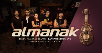 Almanak comemora 21 anos de carreira com lançamento de DVD e dois shows em uma única noite