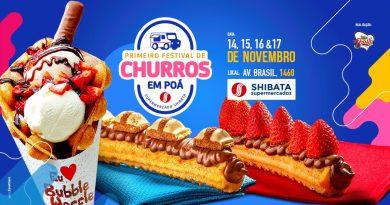 1º Festival de Churros de Poá acontece de 14 a 17 de novembro com entrada gratuita