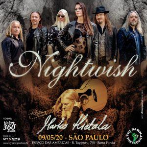 Banda Nightwish – 09 Maio
