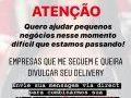 Influencer piracicabana faz postagens gratuitas dos delivery da cidade.
