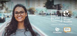 FEMAMA ilumina Arena do Grêmio e Estádio Beira-Rio no Dia Mundial do Câncer